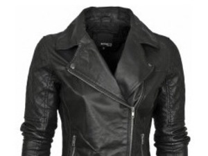 WIN! Leather biker jacket worth £90 as worn by Hollyoaks' Abi Phillips