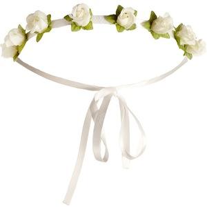 Accessorize white floral headband
