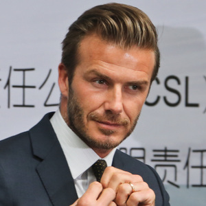 David Beckham in Nanjing, Jiangsu Province, China - 18 Jun 2013