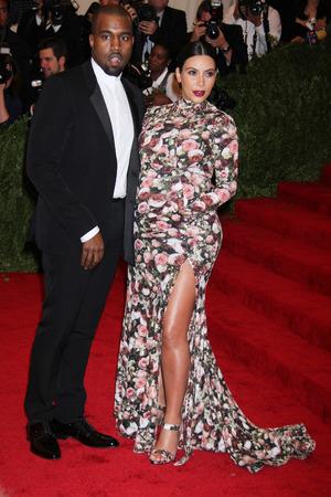 Knaye West, Kim Kardashian - 05/06/2013 - Met Ball in New York