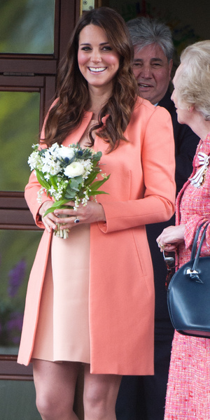 Kate Middleton Duchess of Cambridge visits Naomi House Children's Hospice