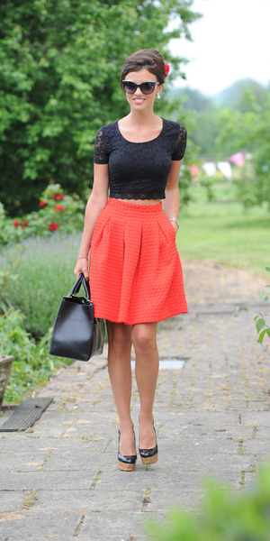 Lucy Mecklenburgh on the set of TOWIE, June 21 2013