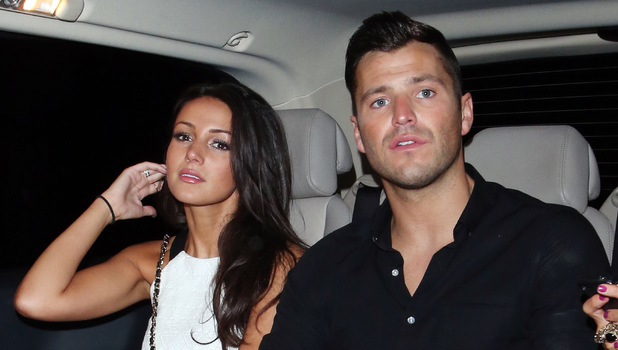 Mark Wright and Michelle Keegan leaving her birthday party held at Shaka Zulu, June 21 2013