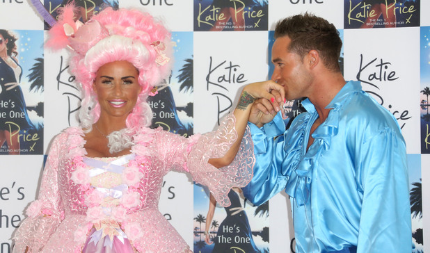 Katie Price launches her book 'He's The One' with Kieran Hayler at the Worx Studios - 18 June 2013