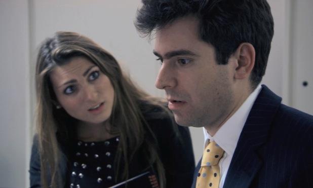 Luisa Zissman and Jason Leech argue on The Apprentice - 17 June 2013