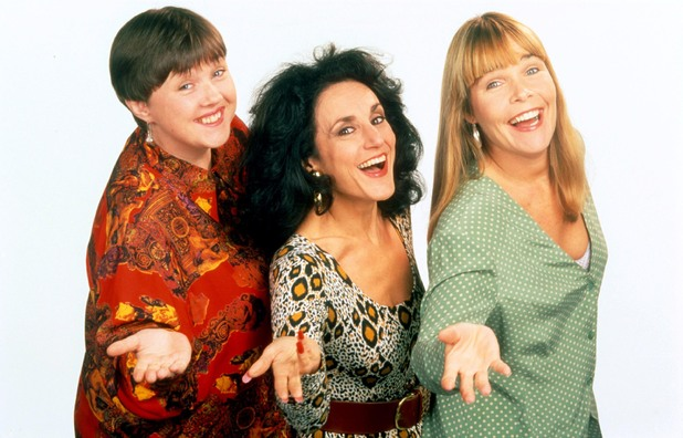 'BIRDS OF A FEATHER' - 1995 PAULINE QUIRKE, LESLEY JOSPEH AND LINDA ROBSON 1995