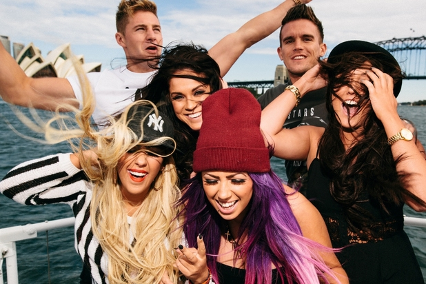 Geordie Shore cast in Australia - June 2013