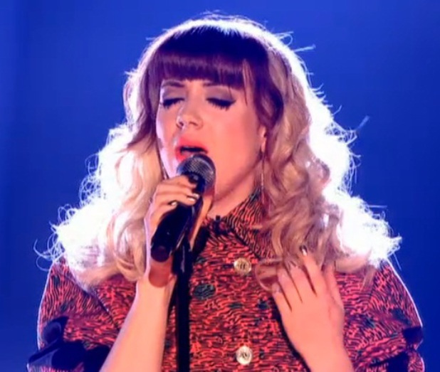 The Voice UK 2013 final on 22 June, Leah McFall