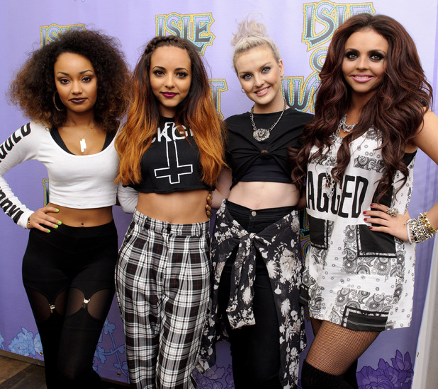 Perrie Edwards, Jade Thirlwall, Jesy Nelson, Leigh-Anne Pinnock Little Mix Isle of Wight Festival, Isle of Wight, Britain - 15 Jun 2013