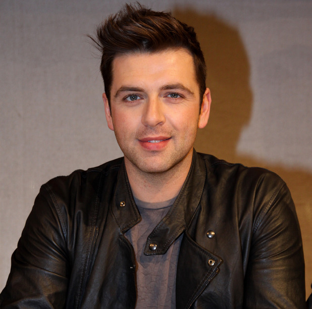 Mark Feehily of Westlife signing autographs at Alexa shopping mall. Berlin Germany - 08.02. - mark-feehily-westlife