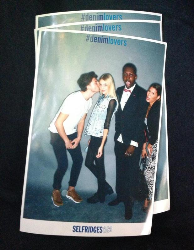 Tom Kilbey and Jamal Edwards at Denim Lover event in London (20 June)