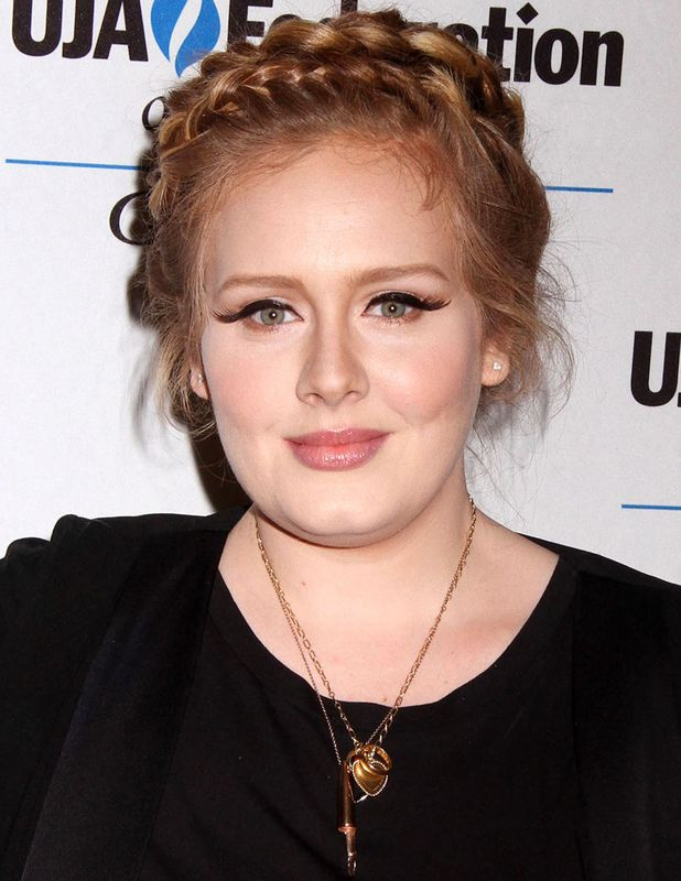 Adele at UJA Music Visionary of the Year Award Luncheon, New York, America - 21 Jun 2013