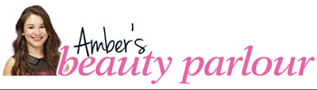 Logo for Amber's Beauty Parlour on Reveal