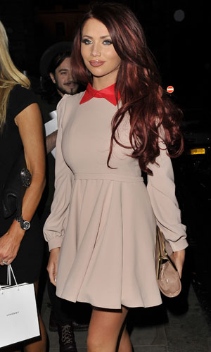 Amy Childs out in London, 17 June 2013