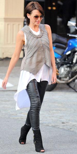 Dannii Minogue in New York on 19 June 2013