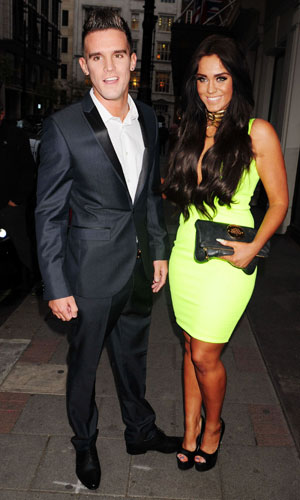Vicky Pattison and Gaz Beadle, Yahoo! Wireless Festival pre-party at The May Fair Hotel, 19 June 2013