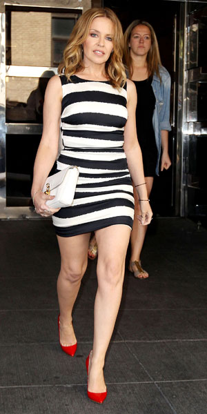 Kylie Minogue in New York on 19 June 2013