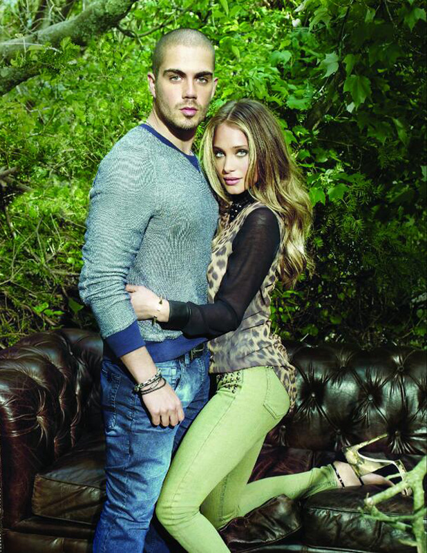 The Wanted's Max George becomes the face of Buffalo men's label