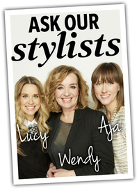 Ask our stylists logo