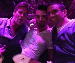 Alex Reid hangs out with Rylan Clark and Basshunter in Shakazulu, London - 24 June 2013