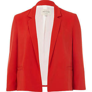 red jacket from River Island
