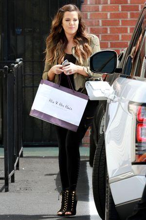 Khloe Kardashian and Robert Kardashian filming, Los Angeles, America - 24 Jun 2013