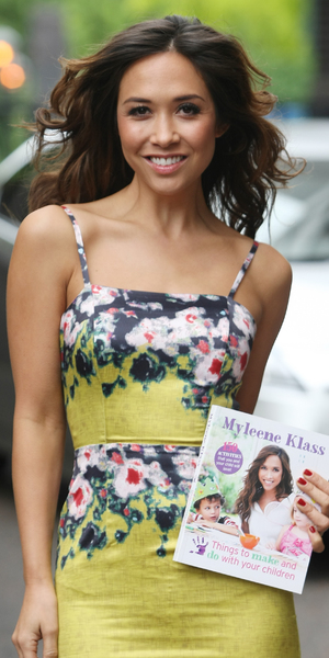 """Myleene Klass leaving ITV Studios The former Hear'say band member was promoting her new book """"Things to make and do with your children"""""""