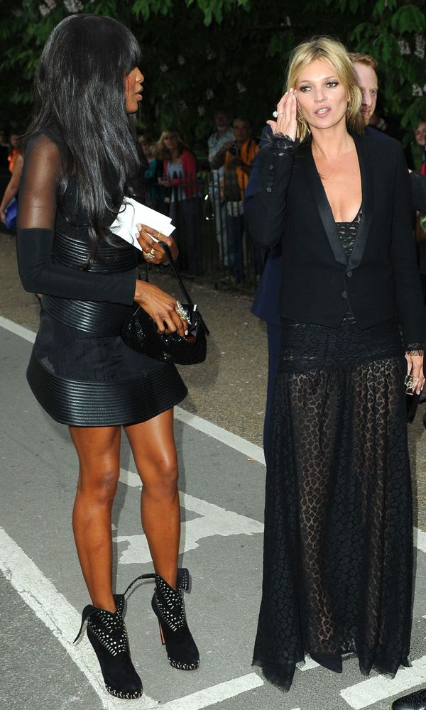 Naomi Campbell and Kate Moss at the Serpentine Summer Party - London 26 June 2013