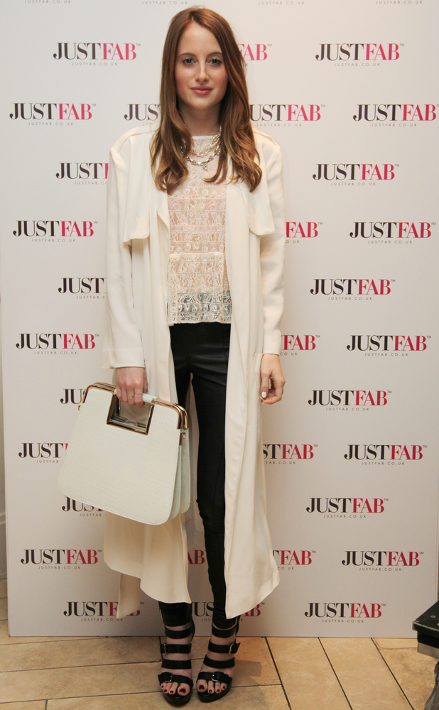 Rosie Fortescue at JustFab Evening of Style