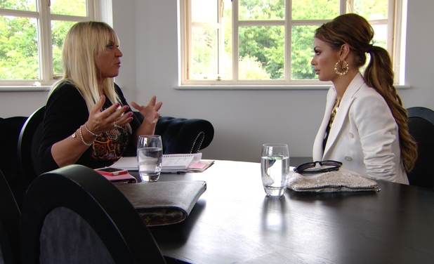 TOWIE's Chloe Sims goes for a job interview at Essex Style magazine - 25 June 2013