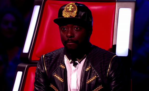 The Voice UK live final shown on BBC1 HD - will.i.am - 22 June 2013