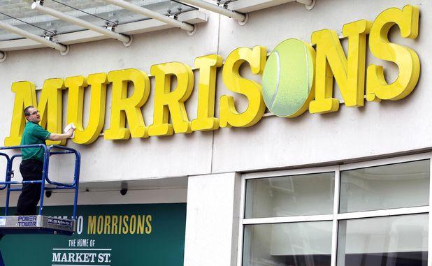 Morrisons supermarket renames it's Wimbledon store 'Murrisons' as Murray Mania hits the nation, London, Britain - 23 Jun 2013