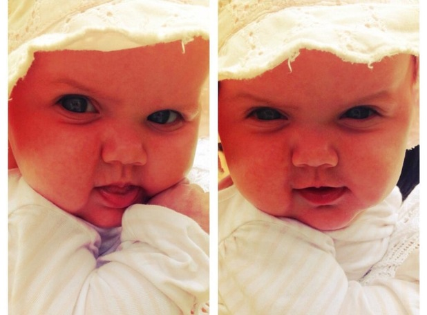 Imogen Thomas shares new picture of Ariana Siena - 27 June 2013
