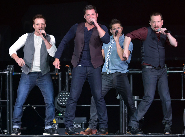 98 Degrees perform live in concert during 'The Package Tour' at the BB&T Center - 22 June 2013