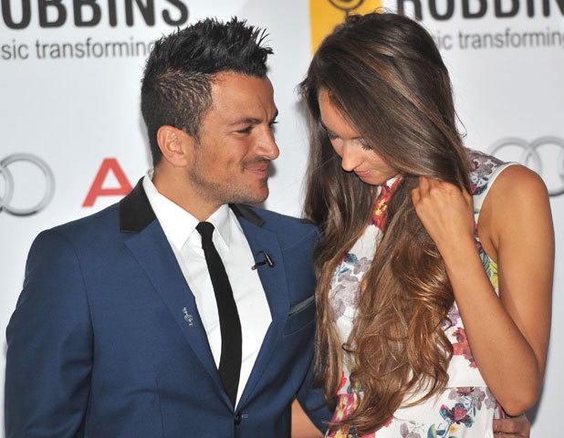 Emily MacDonagh and Peter Andre, Nordoff Robbins O2 Silver Clef Awards held at the London Hilton Park Lane, 28 June 2013