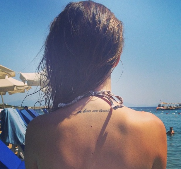 Made In Chelsea's Lucy Watson in Turkey - June 2013