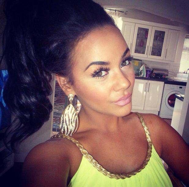 Chelsee Healey shares Twitter picture of herself - 24 June 2013