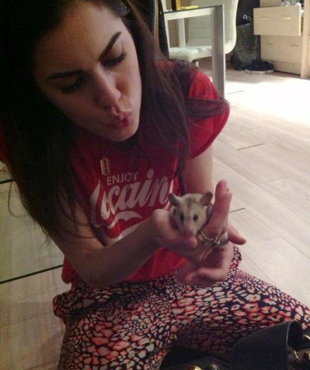 Former Made In Chelsea star Sophia Sassoon gets pet hamster - 25 June 2013