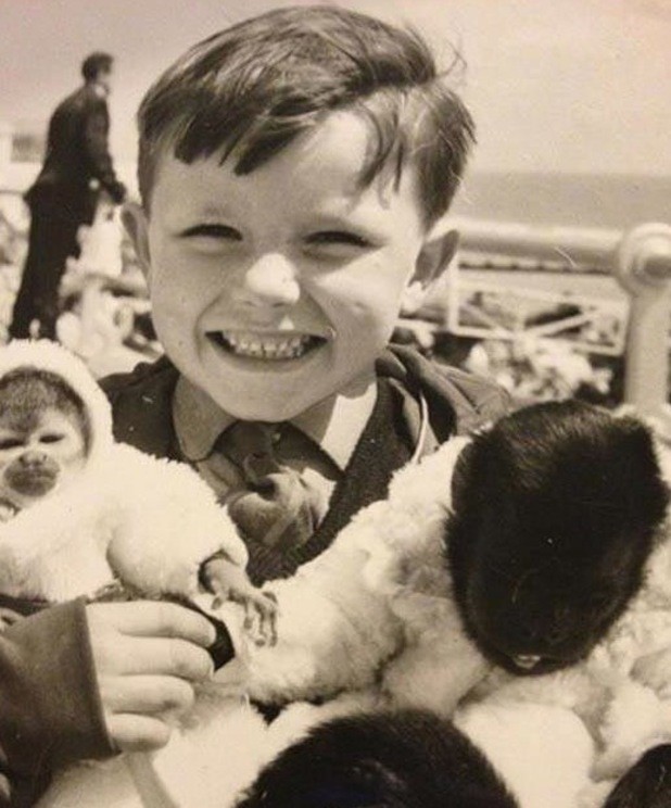 Ricky Gervais shares birthday picture from childhood - 26 June 2013