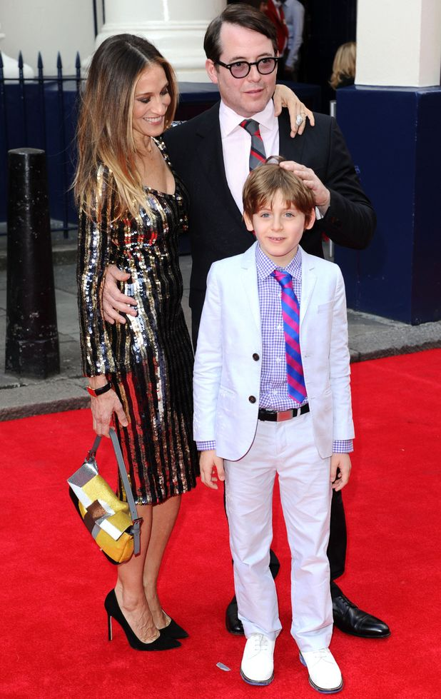 'Charlie and the Chocolate Factory' press night at the Theatre Royal Drury Lane, London, Britain - 25 Jun 2013 Sarah Jessica Parker, Matthew Broderick and James Wilke Broderick 25 Jun 2013