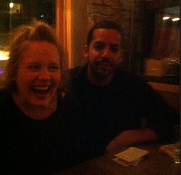 Adele and David Blaine, 26 June 2013