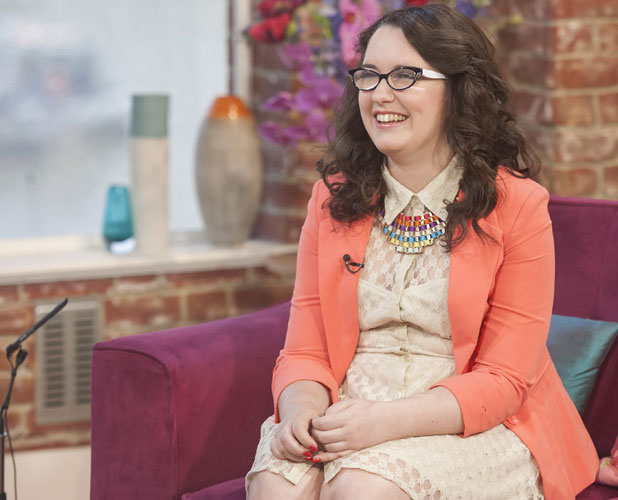 Andrea Begley on This Morning, 25 June 2013