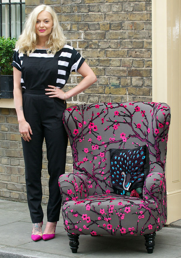 Fearne Cotton Stylish At Homeware Launch