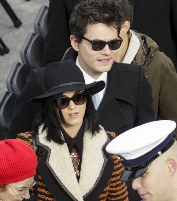 Inauguration Ceremony of United States President Barack Obama, US Capitol, Washington DC, America - 21 Jan 2013 John Mayer and Katy Perry Kristoffer Tripplaar/Sipa USA/Rex Features