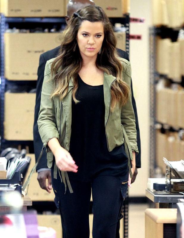 Khloe Kardashian in Los Angeles, 24 June 2013