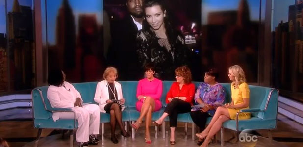 Kris Jenner on The View, 25 June 2013