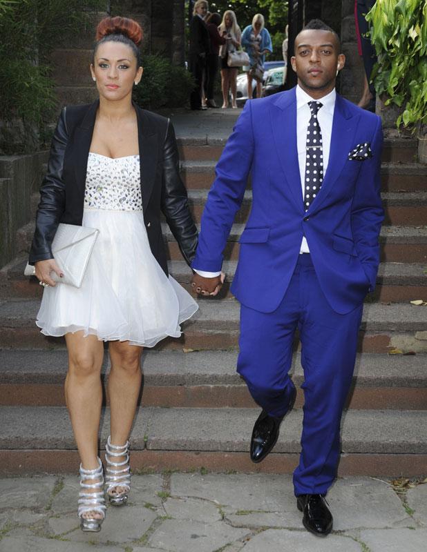 Oritse Williams and girlfriend Aimee Jade at OK party, June 2013