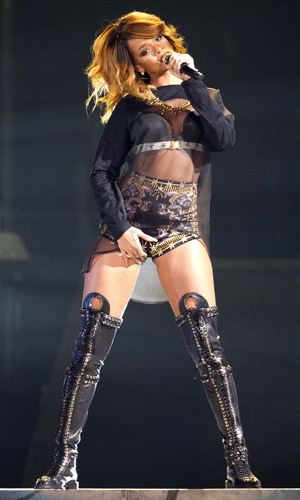 Rihanna performs live at the Ziggo Dome during the first of two sold out concerts as part of her 'Diamonds World Tour' PersonInImage:Rihanna Credit :WENN.com Special Instructions : Date Created :06/23/2013 Location :Amsterdam, Netherlands