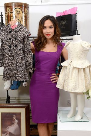 Mothercare Baby K Collection, Christmas Collection, London, Britain - 04 Jul 2013 Myleene Klass