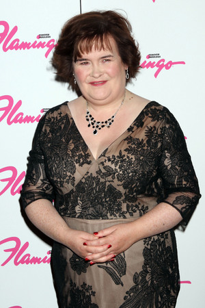 Susan Boyle makes a guest appearance at the the Donny & Marie Show at The Flamingo Hotel and Casino Las Vegas, Nevada - 17.10.12
